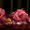 chopped peonies