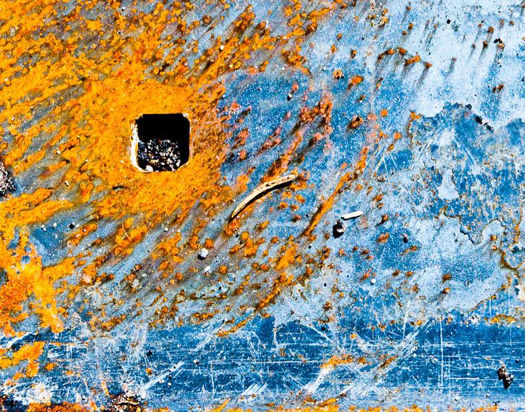 A modicum of rust.