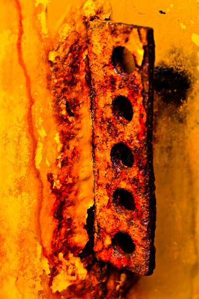 Rust on a road sander