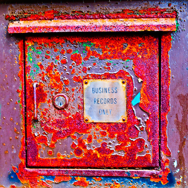 Business Records Only<br /> Full blown tonemapped and saturated!