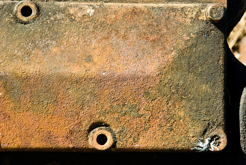 Rusted Engine part