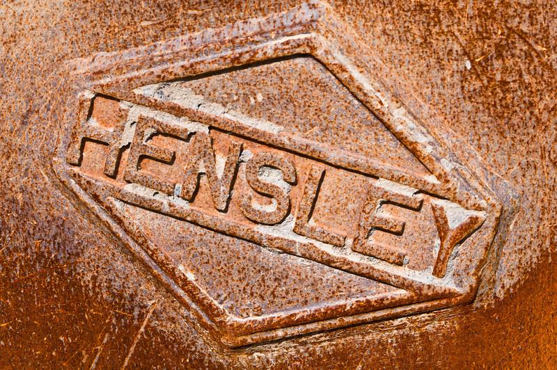 Hensley Bucket (of rust)