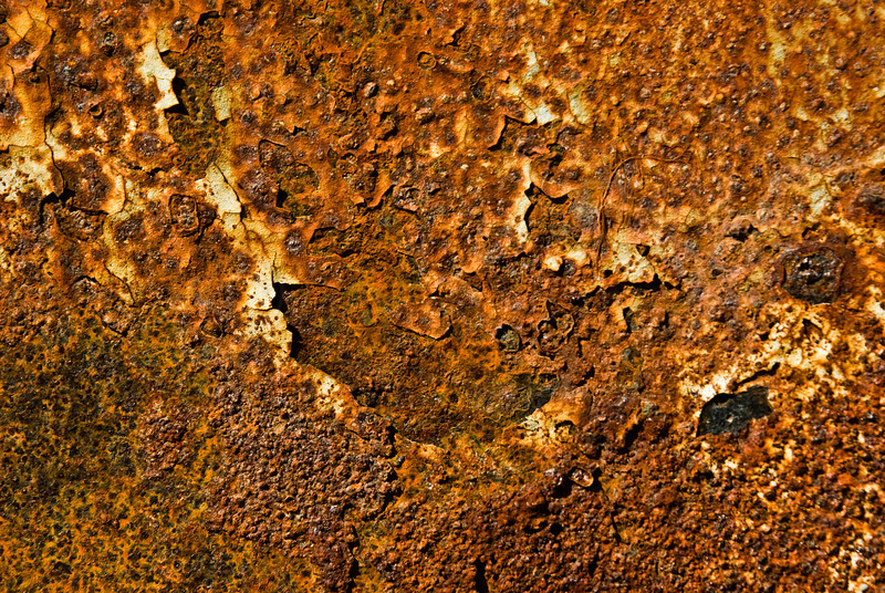 Rust patch on Storage Trailer