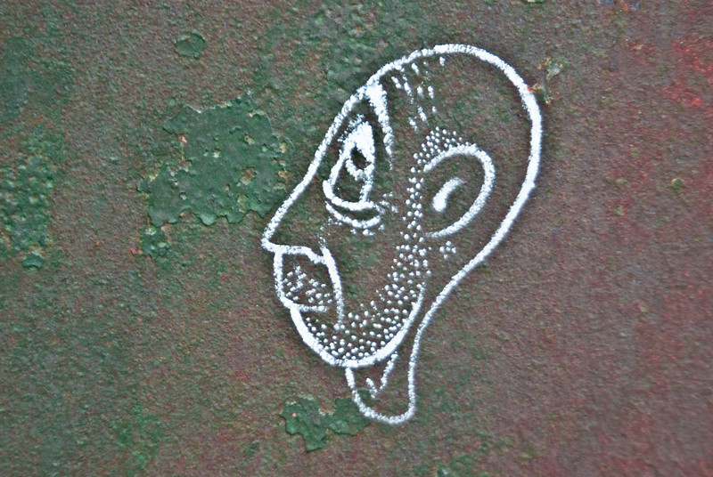 Portrait on rust!