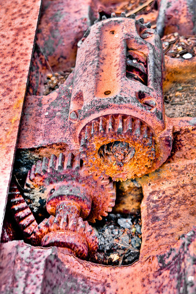 Rusty Gear Train