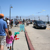 A look at the gobs and gobs of people on the wharf in Santa Cruz.