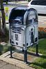 A star wars mail box.