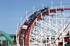 Anoter shot of the roller coaster in Santa Cruz.