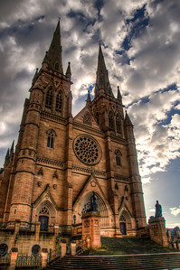An early morning capture of Saint Mary's Cathedral in Sydney, Australia. June 2011