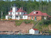 Raspberry Island Lighthouse on the Apostle Islands.