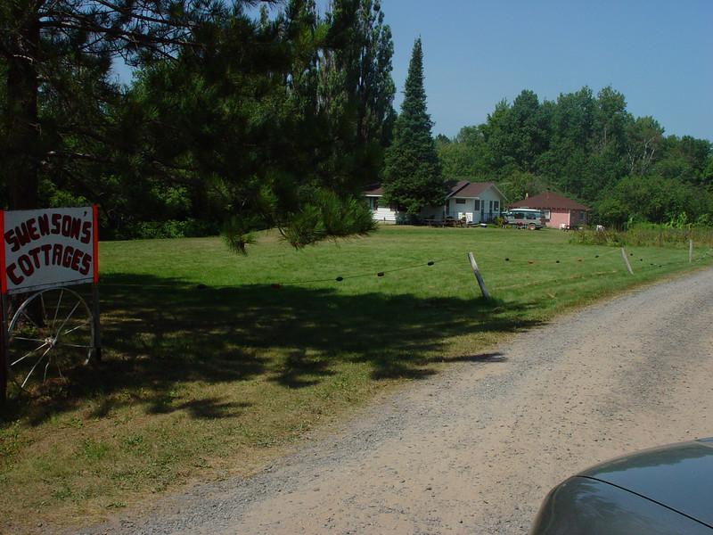 Swenson's Cottages located in Cornucopia, WI.
