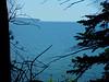 Lake Superior from the cliffs in Cornicopia, WI.