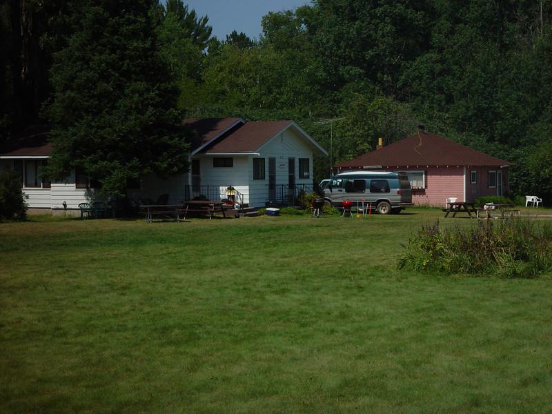 Swenson's cottages in Cornucopia, WI.