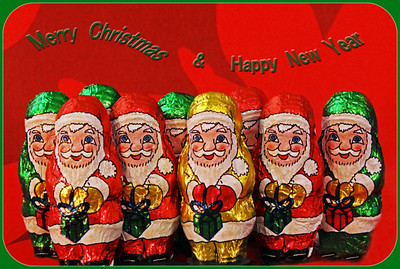 Merry Christmas Everyone from Nine Little Santas!