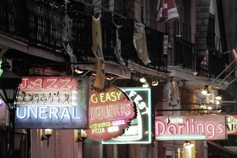 More Bourbon Street signs