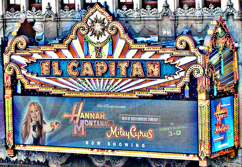 The Marquee at the El Capitan