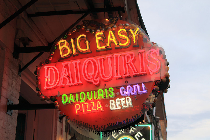 Another Bourbon Street sign