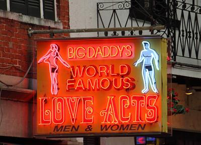A Bourbon Street landmark