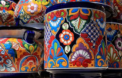 Mexican Ceramic Pots (Horizontal) (3)