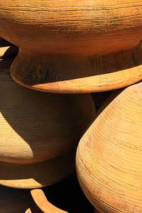 Stacked Terra-cotta Pots (7)