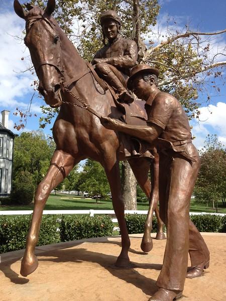 Secretariat statue (a Virginia bred horse)
