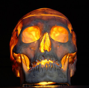 Illuminated Skull