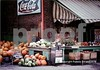 Ralph's Produce.  Ralph's was the original farmers' market in Durham.  Located in a building built around 1901 at the corner of Broad and Markham, Ralph provided locals with all kinds of fresh fruit and vegetables.  Ok, it's not EXACTLY a still life, but it's not exactly anything else, either.  History, street life, architecture? maybe. Check out the prices.  If you could see the original Kodachrome slide you can read the newspaper headlines mentioning President Jimmy Carter.  This is one of my favorites