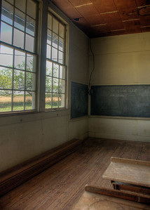 One Room Schoolhouse in Texas