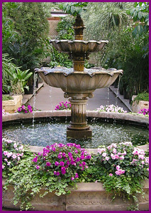 SL-V-0035-13 Double Tulip Fountain