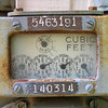 Cubic Feet <br /> Water Meter
