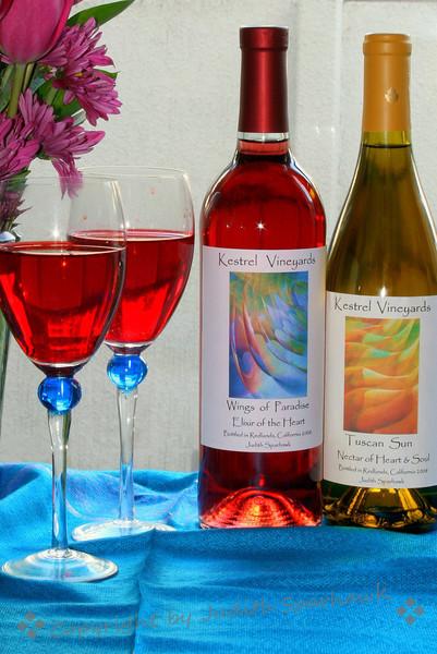 Wine and Tulips