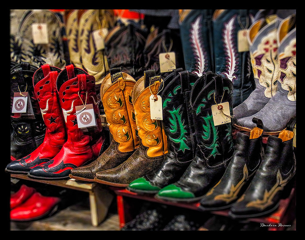 Red Cowgirl Boots