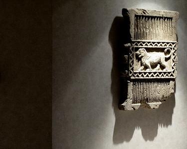 Pheonician wall relief.