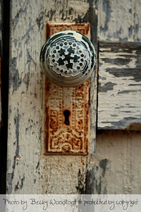 Old doorknob