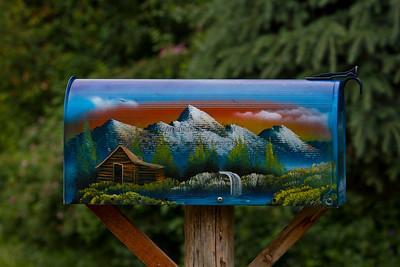 A Fairmont mailbox!