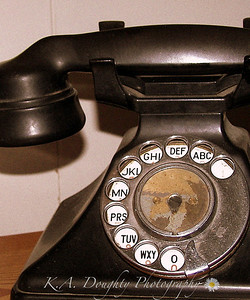 British postal service phone, ca. 1920