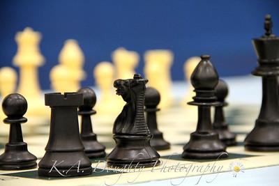 Chess game at the Renaissance Fair, LRHS