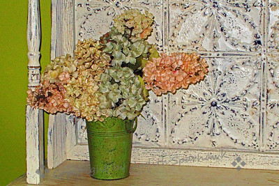 Flowers and Tin