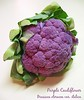 00aFavorite Purple Cauliflower (actually a broccoli) Brassica oleracea var italica cl [text]