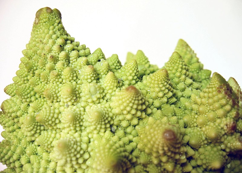 Romanesco Cauliflower edge very cl 2