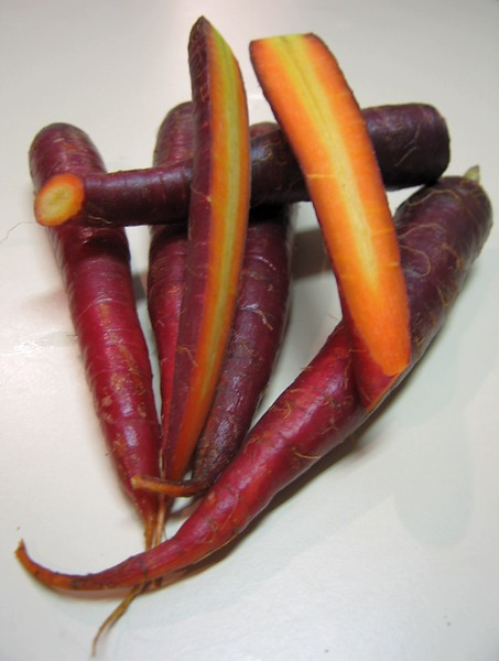 Purple Carrots 2 - I think 'Cosmic Purple'