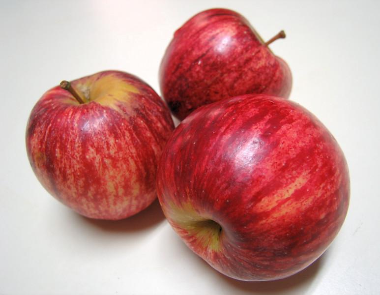 Gala Apple trio
