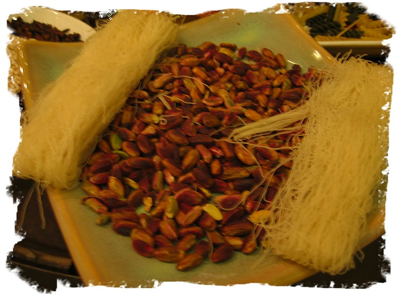Plate of pistachios (Markham ON Hilton)