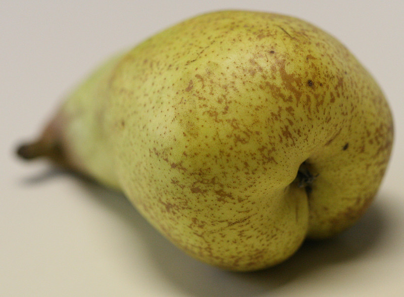 Abate Fetel pear back to front