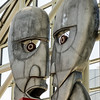 Inductee Sculpture at Rock and Roll Hall of Fame