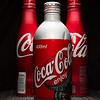 Metal Coke Bottles