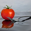 Tomato and Fork  0232 w27