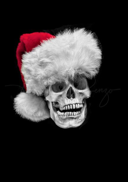 Santa Skull 0951