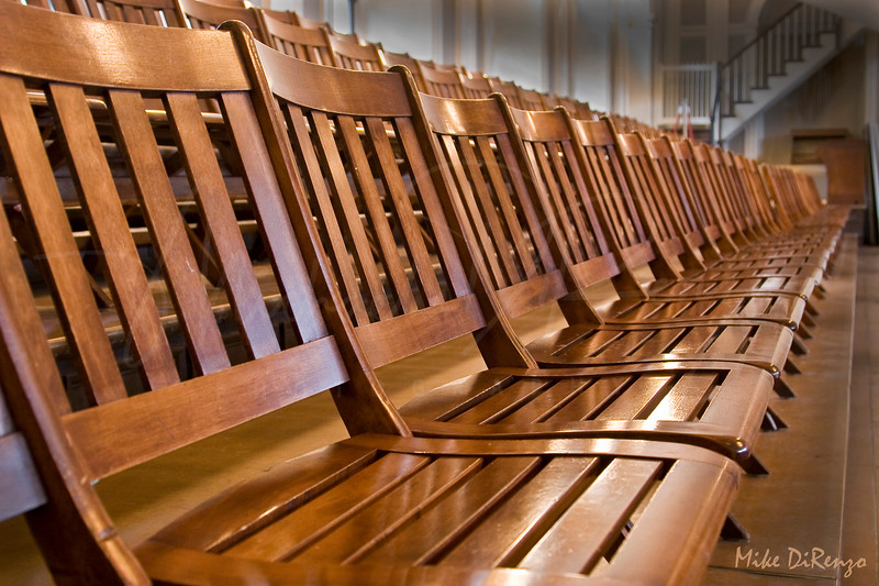 Chairs  7412  w20  Fanieul Hall in Boston