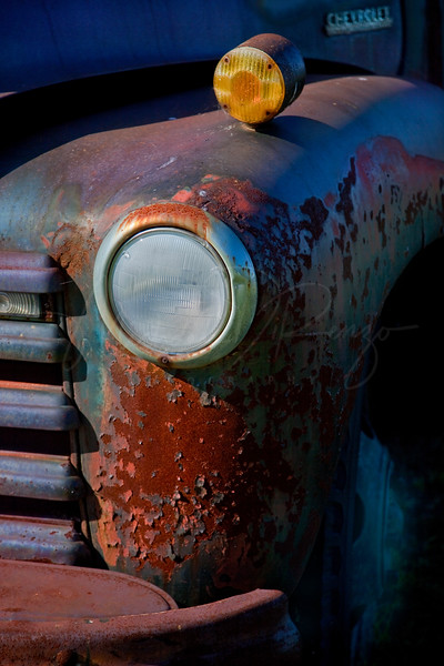 Old Chevy  Headlight 6332